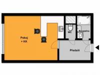 Prodej bytu Garsoniéra v osobním vlastnictví 24 m², Praha 4 - Braník