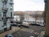 výhled - Pronájem bytu 2+1 v osobním vlastnictví 103 m², Praha 5 - Smíchov