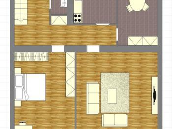 plán 2NP - Prodej komerčního objektu 320 m², Horažďovice