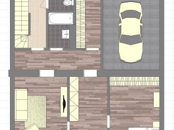 plán 1NP - Prodej komerčního objektu 320 m², Horažďovice