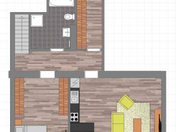 Prodej bytu 4+kk v osobním vlastnictví 117 m², Horažďovice