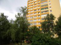 pohled na dům - Pronájem bytu 3+1 v osobním vlastnictví 63 m², Praha 10 - Strašnice