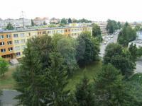 výhled - Pronájem bytu 3+1 v osobním vlastnictví 63 m², Praha 10 - Strašnice