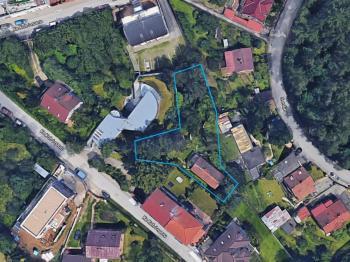 Prodej pozemku 675 m², Praha 5 - Stodůlky