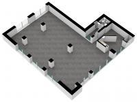 Pronájem komerčního prostoru (obchodní) v osobním vlastnictví, 116 m2, Brno