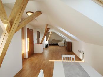 obývací pokoj - Pronájem bytu 3+kk v osobním vlastnictví 93 m², Hradec Králové