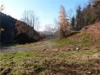 Pohled na celý pozemek (Prodej pozemku 3348 m², Zdislava)