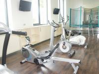 fitness (Pronájem bytu 4+kk v osobním vlastnictví 116 m², Praha 4 - Nusle)