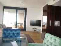 obývací pokoj (Pronájem bytu 4+kk v osobním vlastnictví 116 m², Praha 4 - Nusle)