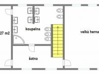 Pronájem kancelářských prostor 134 m², Vestec