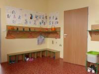 šatna (Pronájem kancelářských prostor 134 m², Vestec)