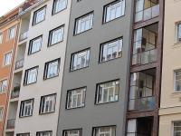 Pohled na dům (Pronájem bytu 2+kk v družstevním vlastnictví 56 m², Praha 3 - Vinohrady)