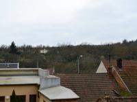 výhled z rozestavěné části - Prodej domu v osobním vlastnictví 184 m², Brno