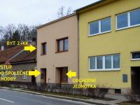 rozvržení domu - Prodej domu v osobním vlastnictví 184 m², Brno