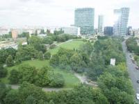 výhled z okna - Pronájem bytu 3+kk v osobním vlastnictví 126 m², Praha 4 - Nusle