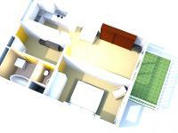 Prodej bytu 2+kk v osobním vlastnictví 66 m², Praha 5 - Řeporyje