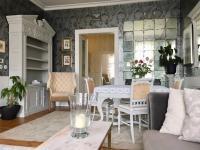 Obývací pokoj (Pronájem bytu 3+1 v osobním vlastnictví 101 m², Praha 5 - Smíchov)
