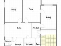 2.podlaží (Prodej domu v osobním vlastnictví 370 m², Praha 10 - Strašnice)