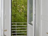 balkón do vnitrobloku (Pronájem bytu 2+1 v družstevním vlastnictví 65 m², Praha 4 - Podolí)