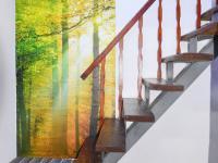 schodiště do patra (Prodej domu v osobním vlastnictví 130 m², Želízy)
