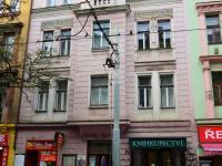 pohled na dům z ulice - Prodej komerčního objektu 33 m², Praha 3 - Žižkov
