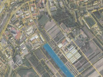 Situace - Prodej pozemku 58798 m², Litomyšl
