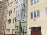 pohled ze dvora - Prodej bytu 1+kk v osobním vlastnictví 45 m², Praha 4 - Nusle