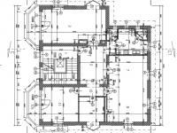 půdorys - Prodej bytu 4+1 v osobním vlastnictví 167 m², Praha 4 - Podolí