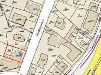 Situace - Prodej domu v osobním vlastnictví 450 m², Praha 4 - Krč