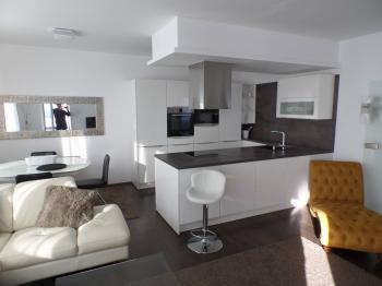 obývací pokoj - Prodej bytu 3+kk v družstevním vlastnictví 105 m², Praha 5 - Stodůlky