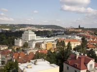 výhled z kanceláře - Prodej kancelářských prostor 167 m², Praha 4 - Podolí