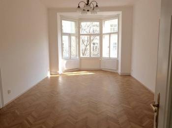 Největší pokoj - Pronájem bytu 3+kk v osobním vlastnictví 114 m², Praha 3 - Žižkov