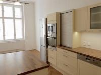 Kuchyň s obývacím prostorem - Pronájem bytu 3+kk v osobním vlastnictví 114 m², Praha 3 - Žižkov