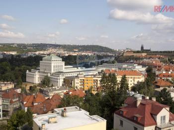 výhled z domu - Pronájem kancelářských prostor 167 m², Praha 4 - Podolí