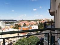 pohled z balkonu - Pronájem kancelářských prostor 167 m², Praha 4 - Podolí