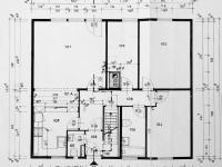 plán - přízemí - Prodej domu v osobním vlastnictví 270 m², Praha 9 - Vinoř