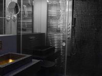 koupelna se sprch. koutem - Prodej bytu 3+kk v osobním vlastnictví 102 m², Praha 5 - Hlubočepy