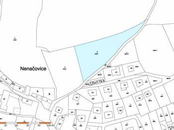 Prodej pozemku 4305 m², Nenačovice