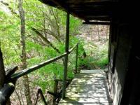 dřevěný ochoz (Prodej chaty / chalupy 20 m², Týnec nad Labem)