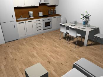 Prodej bytu 3+kk v osobním vlastnictví 76 m², Praha 8 - Karlín