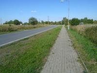komunikace k pozemku (Prodej pozemku 5312 m², Tuchlovice)