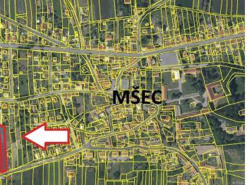 Prodej pozemku 1010 m², Mšec
