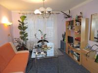 obývací pokoj (Prodej bytu 3+1 v družstevním vlastnictví 68 m², Zvoleněves)