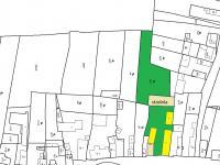 mapa katastr (Prodej domu v osobním vlastnictví 200 m², Oráčov)