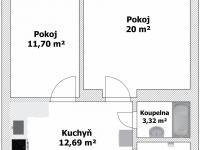 Prodej bytu 2+1 v osobním vlastnictví 49 m², Praha 3 - Žižkov