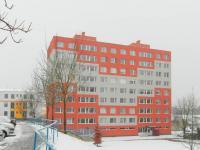 pohled na dům  (Prodej bytu 2+kk v osobním vlastnictví 69 m², Rakovník)