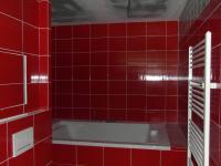 velká dvoumístná vana (Prodej bytu 2+kk v osobním vlastnictví 69 m², Rakovník)