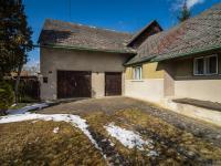 garáž a dílna (Prodej domu v osobním vlastnictví 65 m², Slabce)