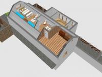 3D - SZ podkroví (Prodej domu v osobním vlastnictví 110 m², Lubenec)