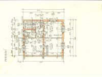 půdorys patra (Prodej domu v osobním vlastnictví 186 m², Kladno)